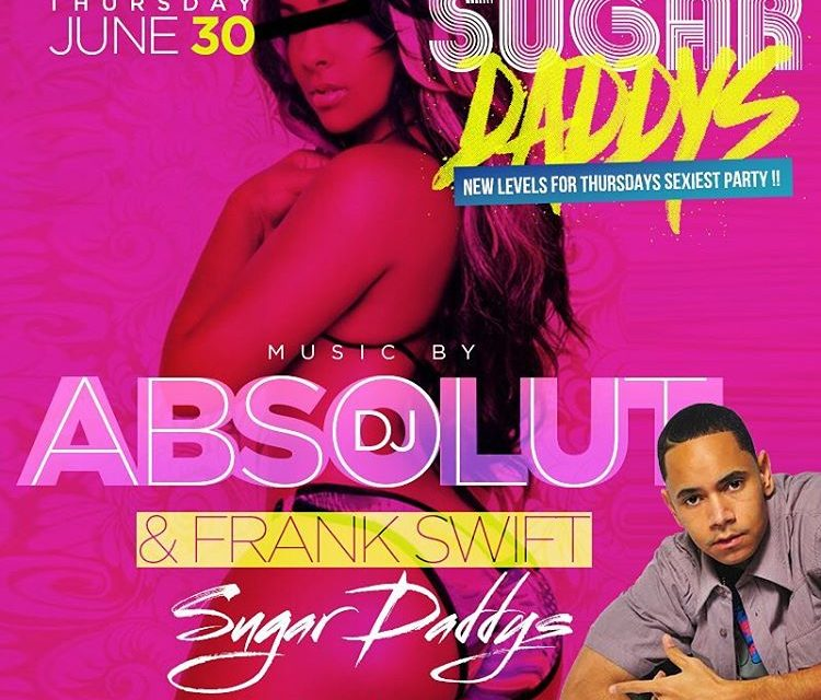 SUGARDADDYS THURSDAYS WITH DJ ABSOLUT SUMMERTIME