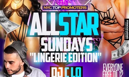 ALL STAR SUNDAYS GRAND OPENING WITH DJ C-LO AT SUGARDADDYS NYC