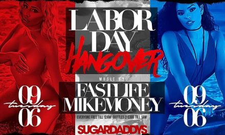 TASTY TUESDAYS LABOR DAY HANGOVER AT SUGARDADDYS NYC