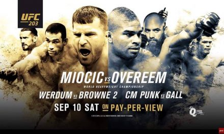 UFC 203 – LIVE FROM THE Q – MIOCIC VS OVEREEM – CM PUNK VS GALL AT SUGARDADDYS NYC