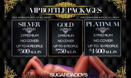 BOTTLE SPECIALS AT SUGARDADDYS NYC