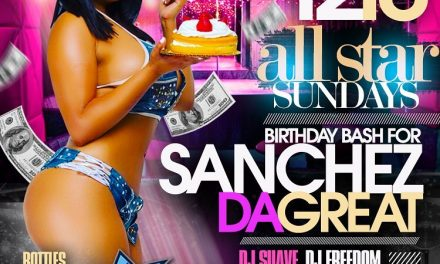 ALL STAR SUNDAYS HOLIDAY PARTY AT SUGARDADDYS NYC