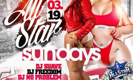 ALL STAR SUNDAYS MARCH 19TH AT SUGARDADDYS NYC