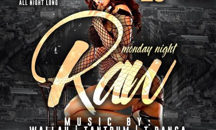 MONDAY NIGHT RAW EVERY WEEK AT SUGARDADDYS NYC