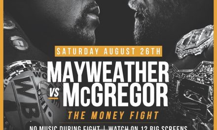 MAYWEATHER VS MCGREGOR – THE MONEY FIGHT AT SUGARDADDYS NYC