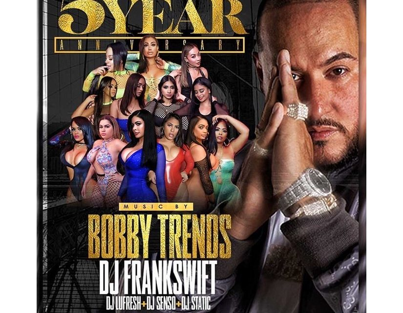 5 YEAR ANNIVERSARY DJ BOBBY TRENDS AT SUGARDADDYS NYC