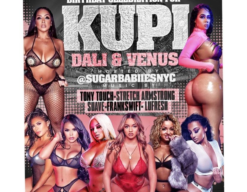 KUPI Birthday Celebration Saturday Night at SUGARDADDYS NYC