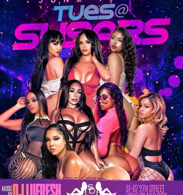 TUESDAY AT SUGARS WITH MUSIC BY DJ LUFRESH